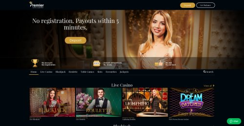 idealcasino.nl premier live casino review screenshot