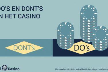 idealcasino.nl Do-s and donts in het casino