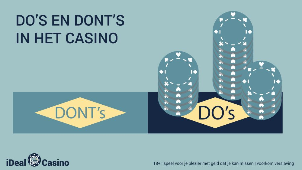 idealcasino.nl Do-s and donts in het casino